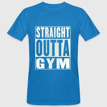Straight Outta Gym Vintage - Men's Organic T-shirt