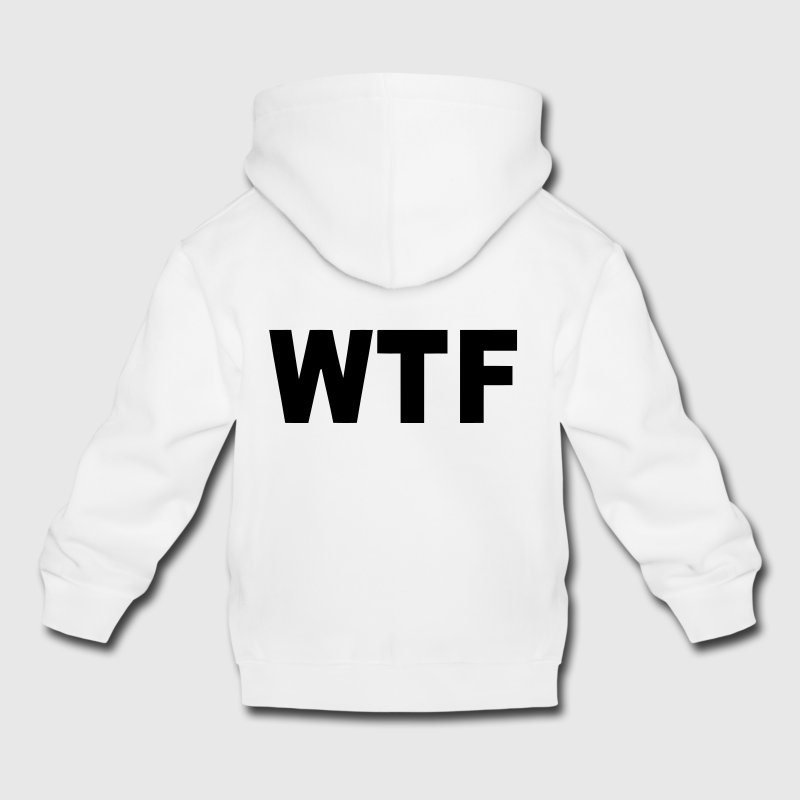 WTF? WHAT THE FUCK? Sweats - Pull à capuche Premium Enfant