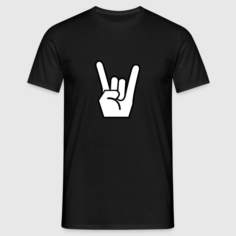Rock On T-Shirts - Männer T-Shirt