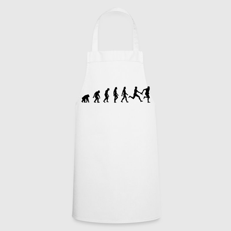The Evolution of Athletics  Aprons - Cooking Apron