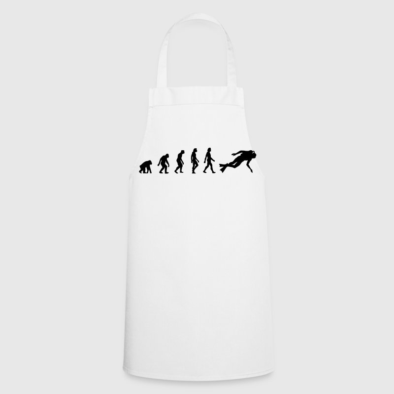 The Evolution of Scuba Diving  Aprons - Cooking Apron