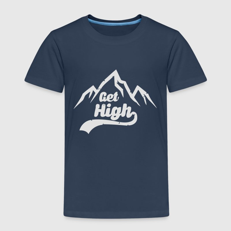 GET HIGH! Shirts - Kinderen Premium T-shirt