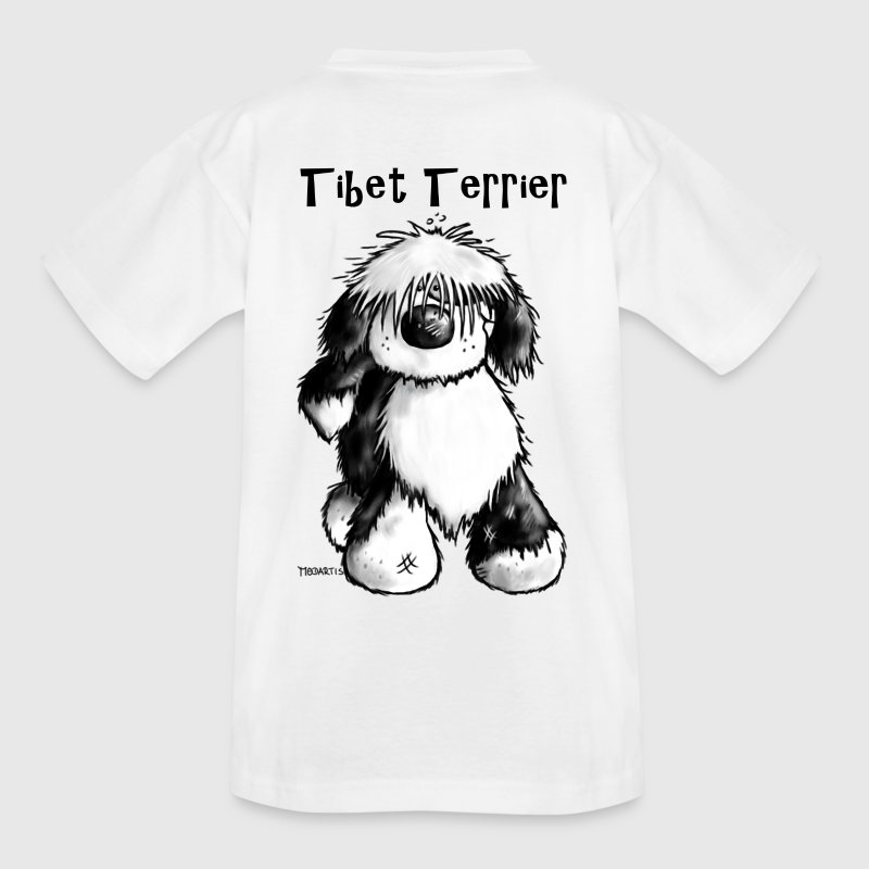 Süßer Tibet Terrier T-Shirts - Teenager T-Shirt