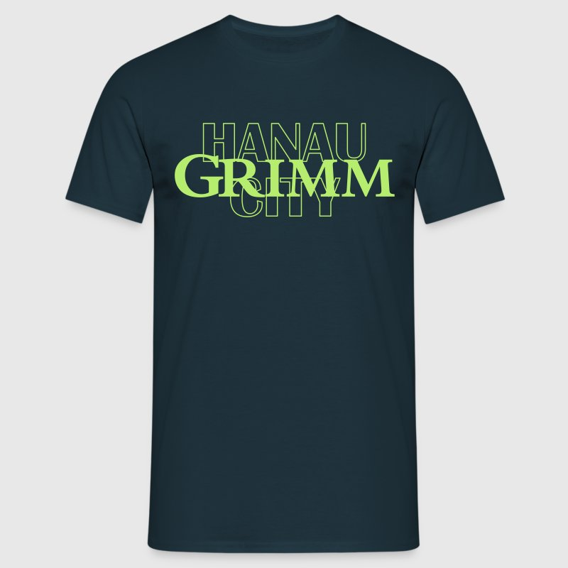 T-Shirt Grimm City Hanau - Männer T-Shirt