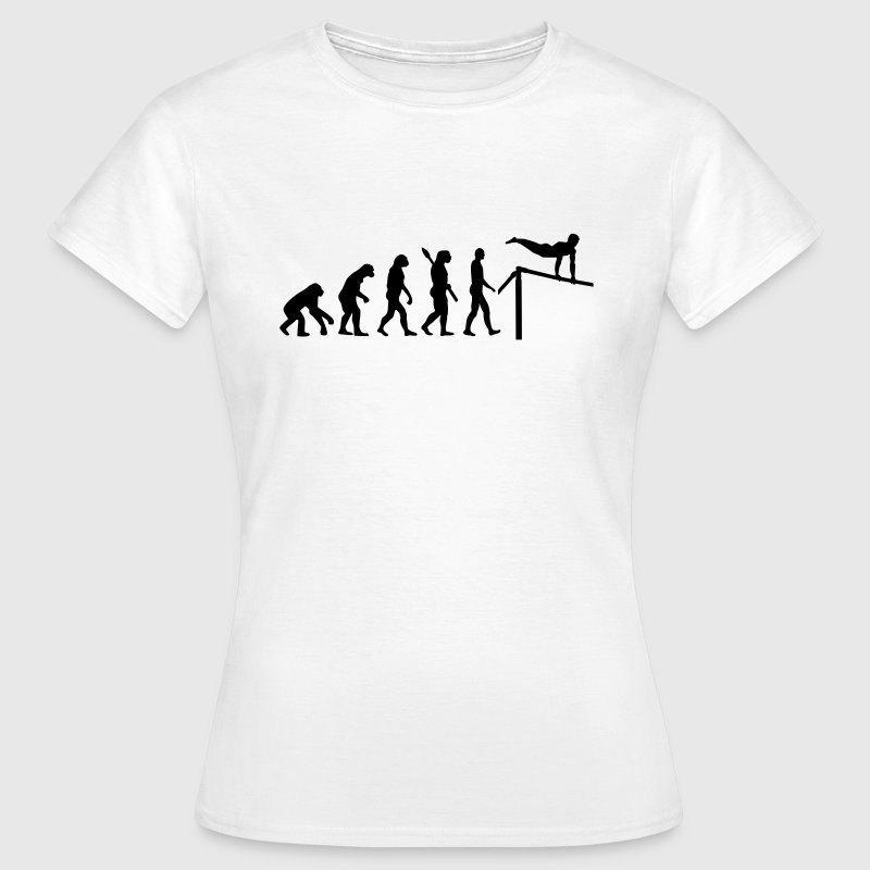 Evolution Turnen T-Shirts - Frauen T-Shirt