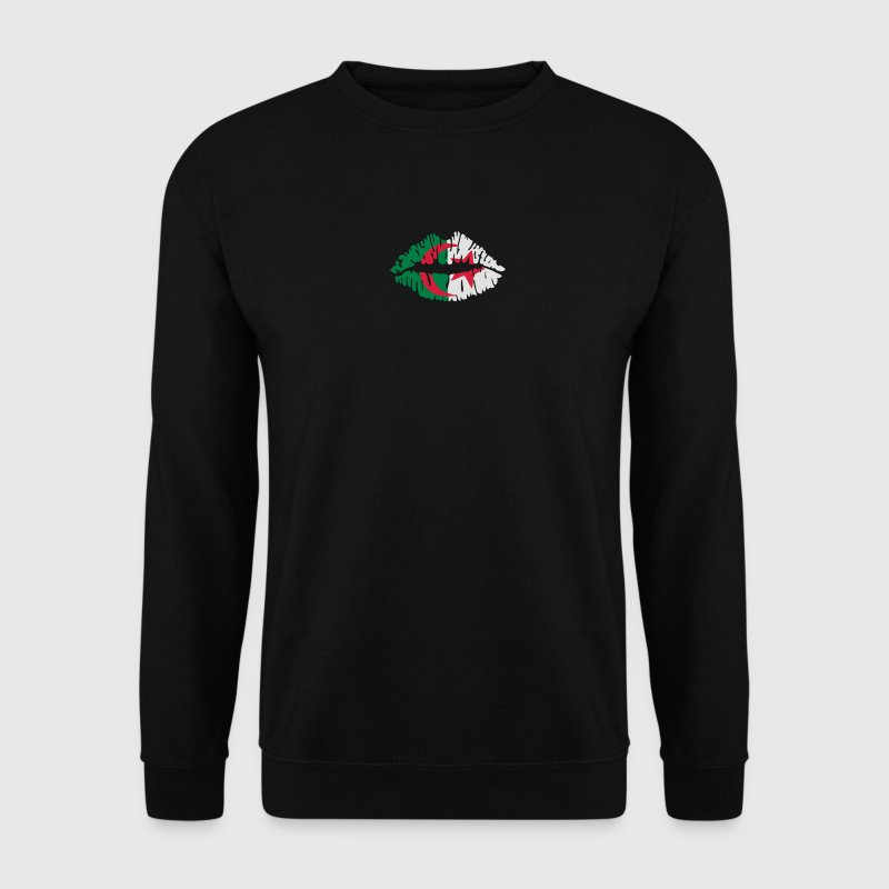 Algerian flag kiss Hoodies & Sweatshirts - Men's Sweatshirt