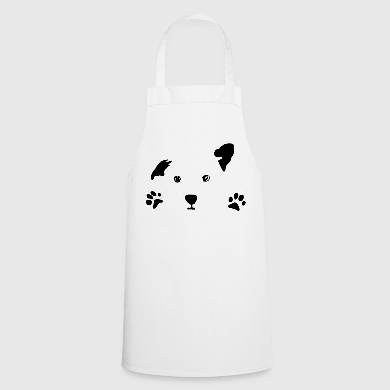 dog, puppy, dog face  Aprons - Cooking Apron