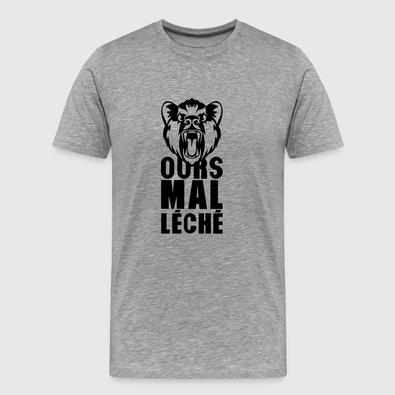 ours mal leche expression citation 0 Tee shirts - T-shirt Premium Homme