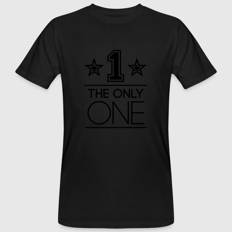 The Only One T-Shirts - Männer Bio-T-Shirt