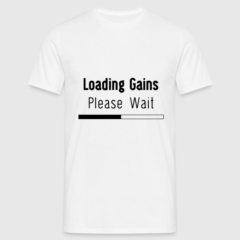 Loading Gains Tee - Men's T-Shirt