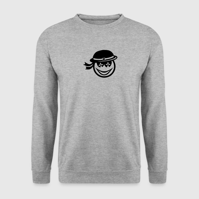 smiley breton chapeau sourire 1109 Sweat-shirts - Sweat-shirt Homme