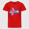 island flagge T-Shirts - Teenager Premium T-Shirt