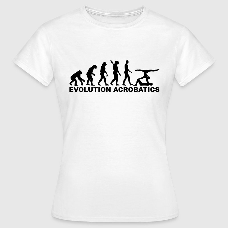 Evolution Acrobatics T-Shirts - Frauen T-Shirt