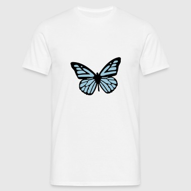 butterfly Toppe - Herre-T-shirt