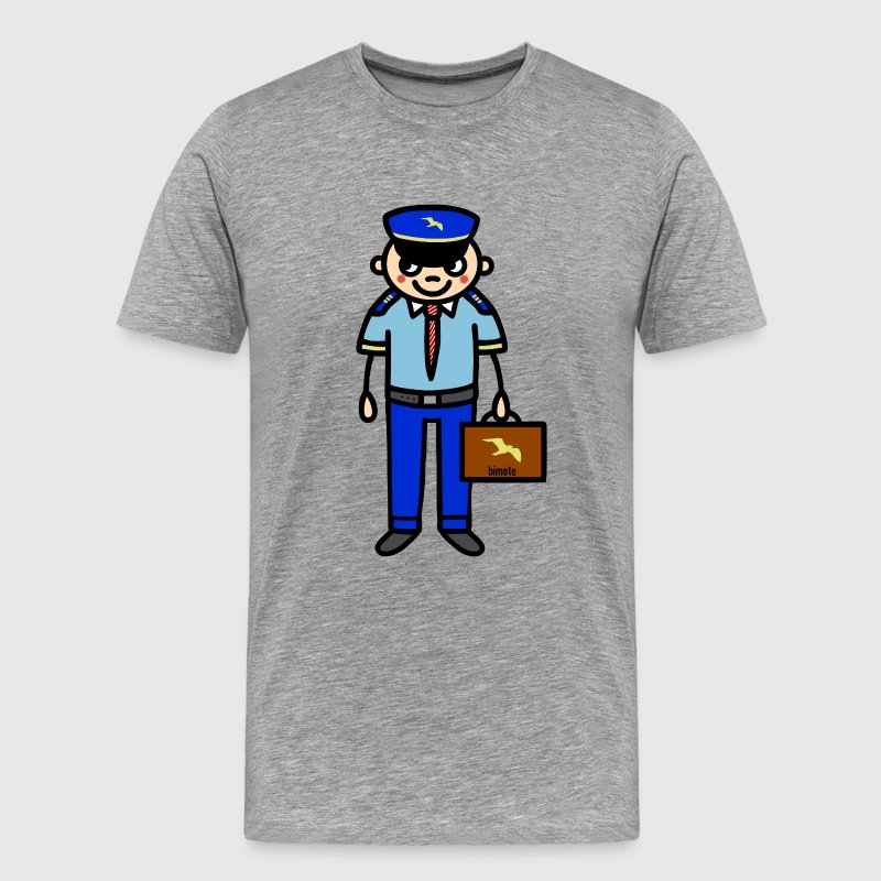 Pilot Co-pilot T-Shirts - Men's Premium T-Shirt