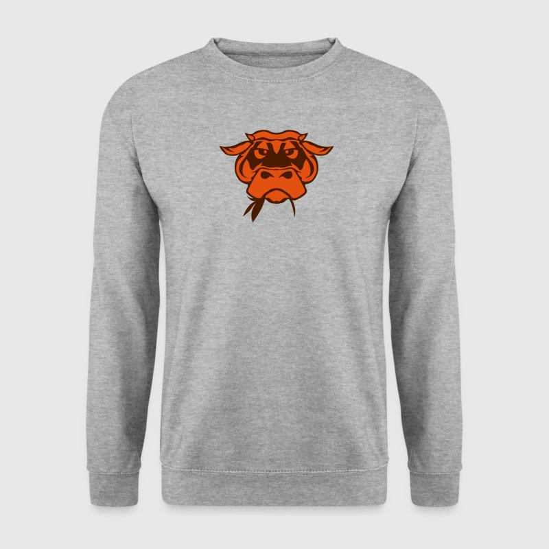 vache dessin mange foin herbe 0 Sweat-shirts - Sweat-shirt Homme