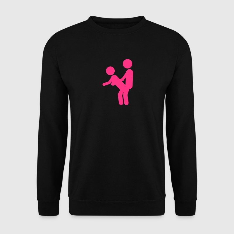 levrette debout icon sexe position amour Sweat-shirts - Sweat-shirt Homme