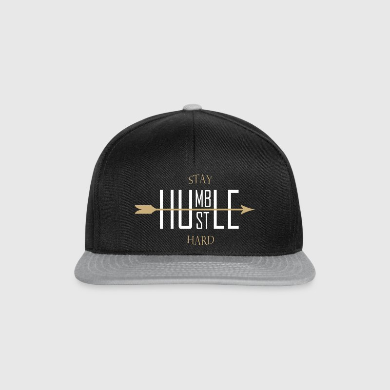 Stay humble - hustle hard Caps & Mützen - Snapback Cap