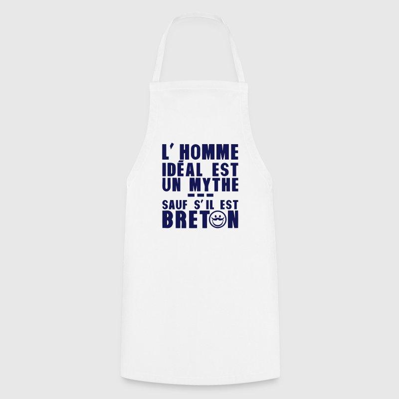 tablier breton homme ideal mythe humour citation spreadshirt. Black Bedroom Furniture Sets. Home Design Ideas