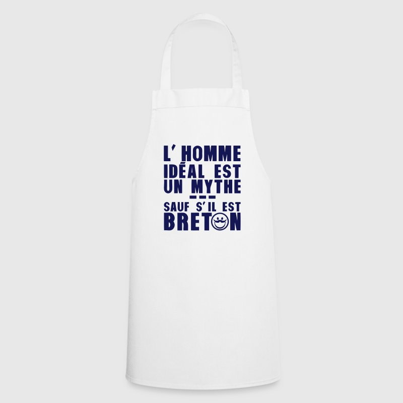 breton homme ideal mythe humour citation Tabliers - Tablier de cuisine