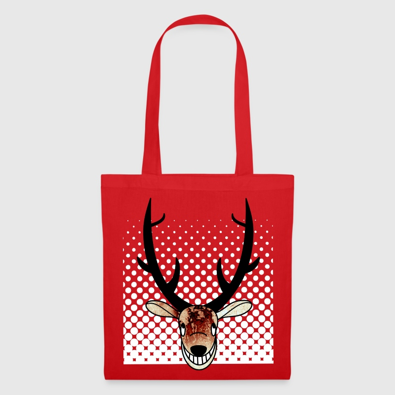 tote bag cerf spreadshirt. Black Bedroom Furniture Sets. Home Design Ideas