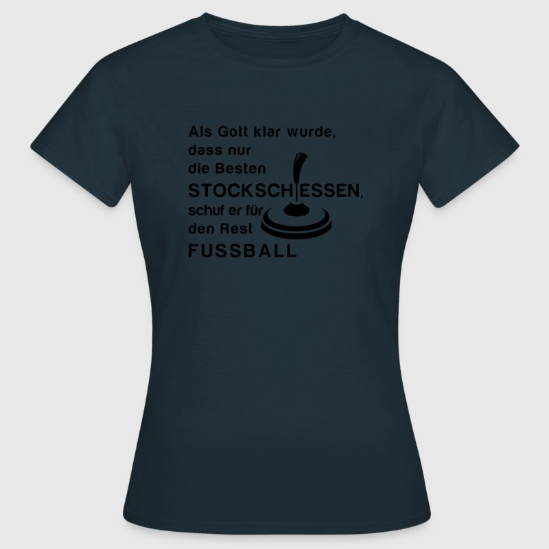 Stockschiessen T-Shirts - Frauen T-Shirt