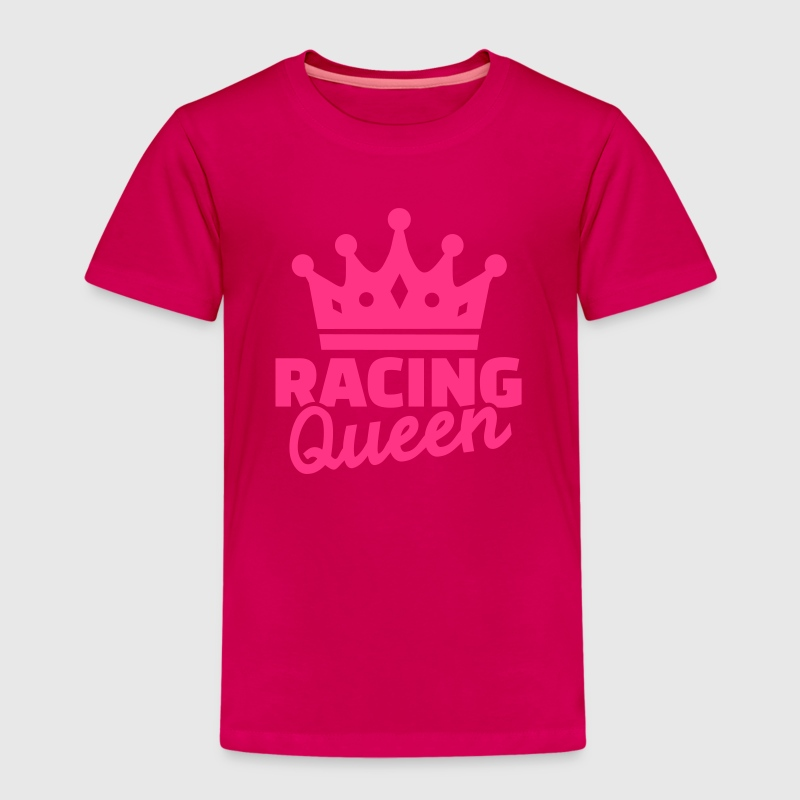 Racing Queen T-Shirts - Kinder Premium T-Shirt