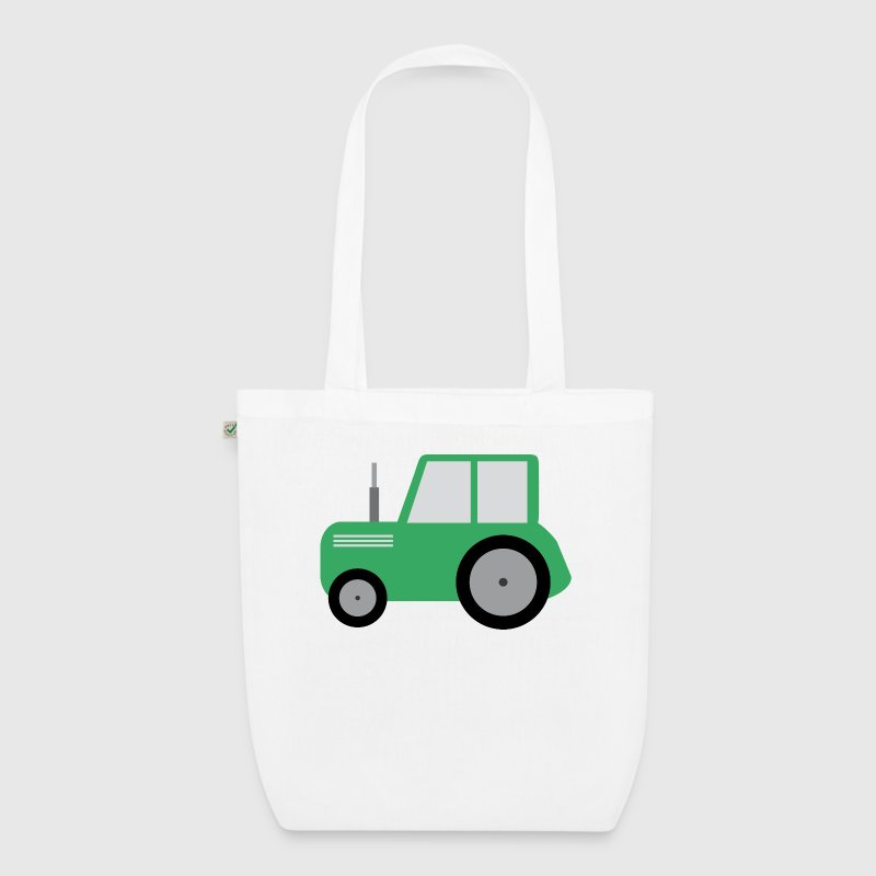 Kids tractor Bags & Backpacks - EarthPositive Tote Bag