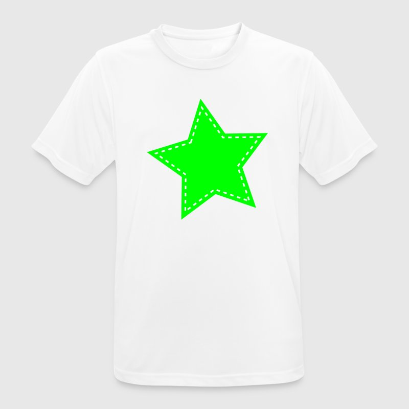 Green star T-Shirts - Men's Breathable T-Shirt