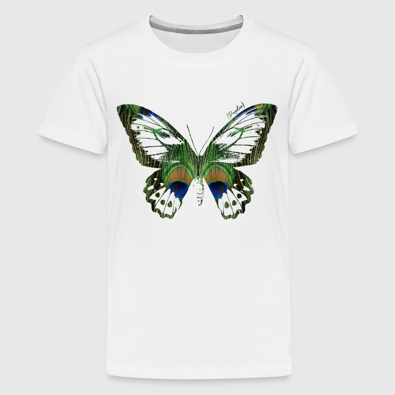 Animal Planet Teenager T-Shirt Butterfly - Teenage Premium T-Shirt