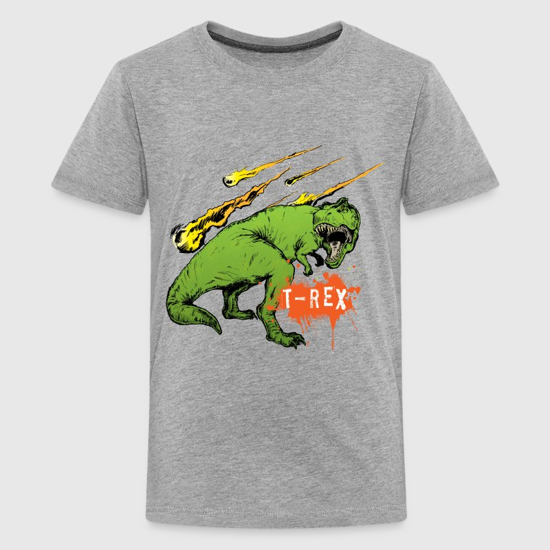 Animal Planet Teenager T-Shirt Tyrannosaurus Rex - Teenage Premium T-Shirt