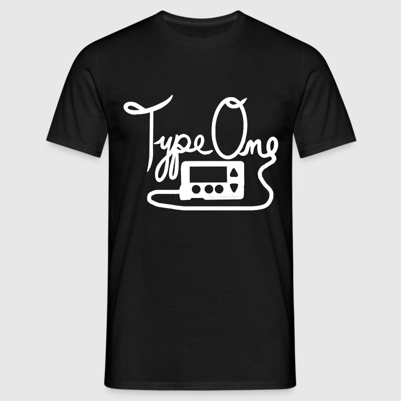 Type One Diabetes - Insulin Pump 1 - White T-Shirts - Men's T-Shirt