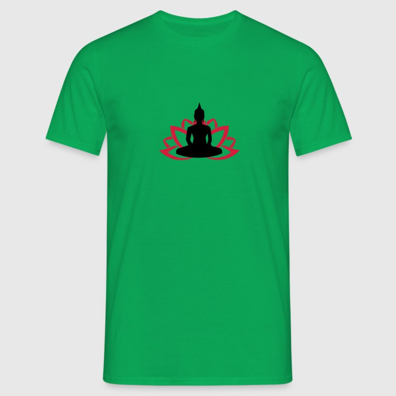 Lotus Buddha T-Shirts - Men's T-Shirt