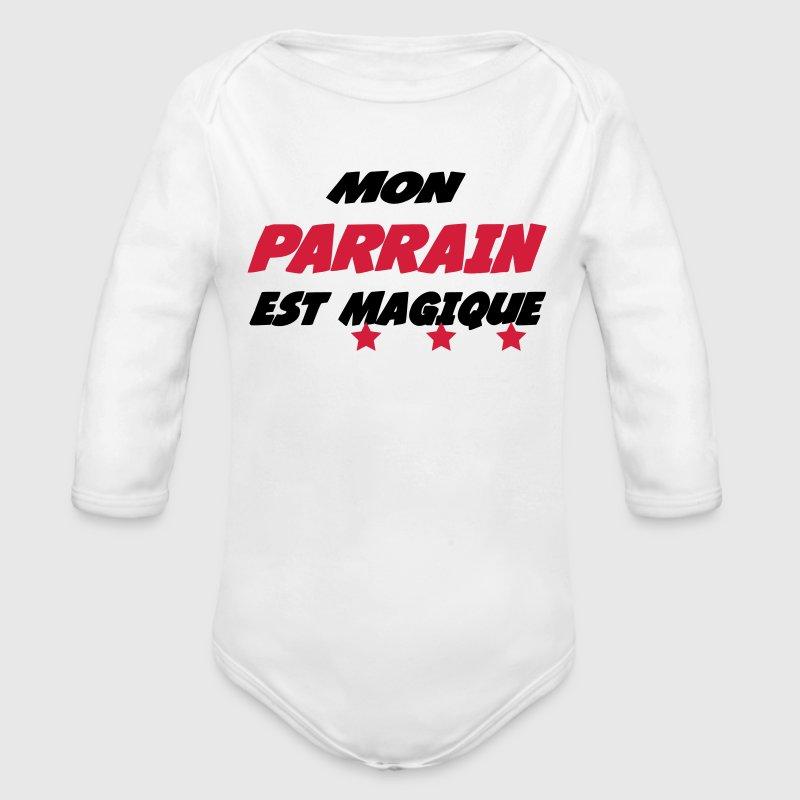 Body b b mon parrain est magique spreadshirt - Code promo berceau magique frais port ...
