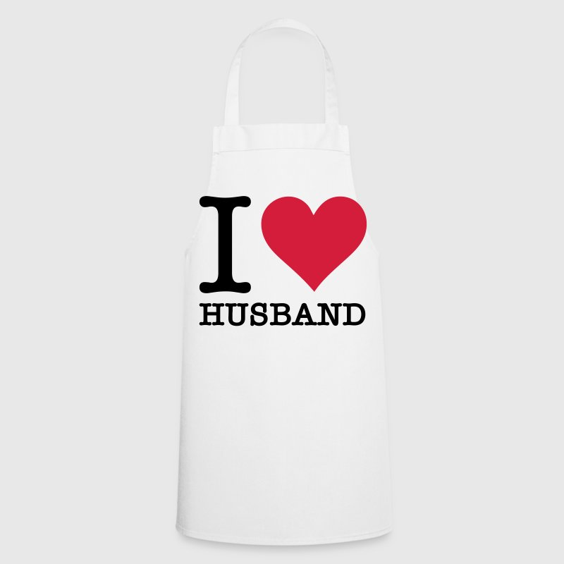 I love my husband!  Aprons - Cooking Apron