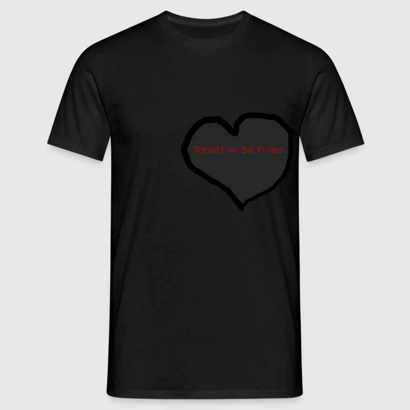 fill my heart T-shirts - T-shirt herr