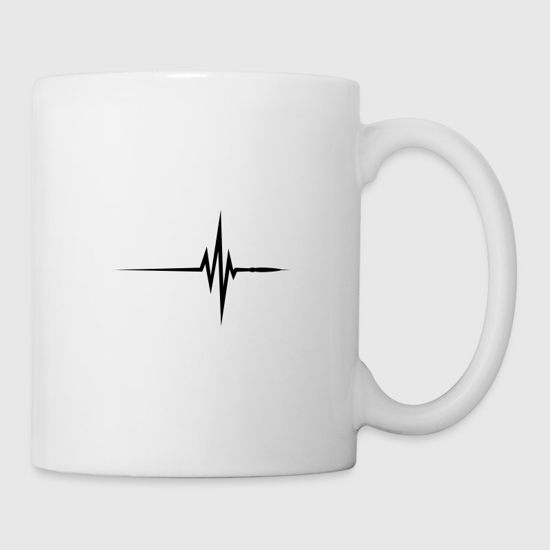 Pulse / beat / EKG Mugs & Drinkware - Mug