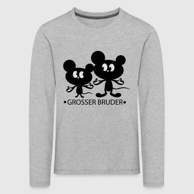 suchbegriff 39 kleiner bruder 39 langarmshirts online. Black Bedroom Furniture Sets. Home Design Ideas