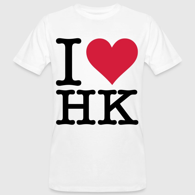 I Love Hong Kong T-Shirts - Men's Organic T-shirt