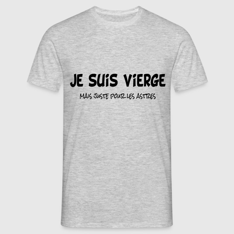 Je suis vierge Tee shirts - T-shirt Homme