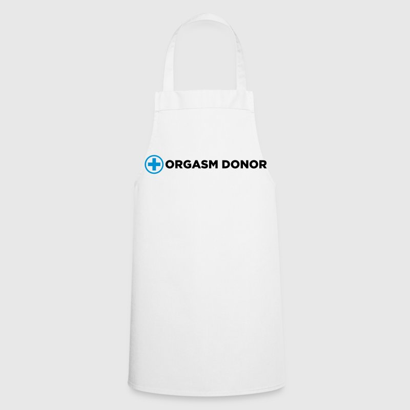Orgasm Donor  Aprons - Cooking Apron