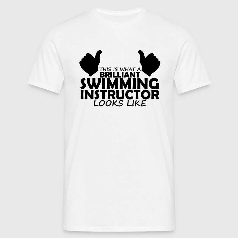 brilliant swimming instructor T-Shirts - Men's T-Shirt