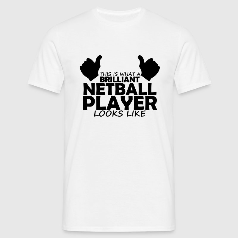 brilliant netball player T-Shirts - Men's T-Shirt