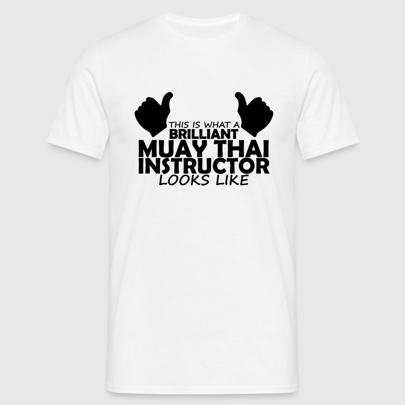 brilliant muay thai instructor T-Shirts - Men's T-Shirt