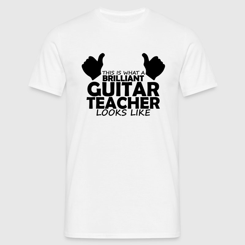 brilliant guitar teacher T-Shirts - Men's T-Shirt