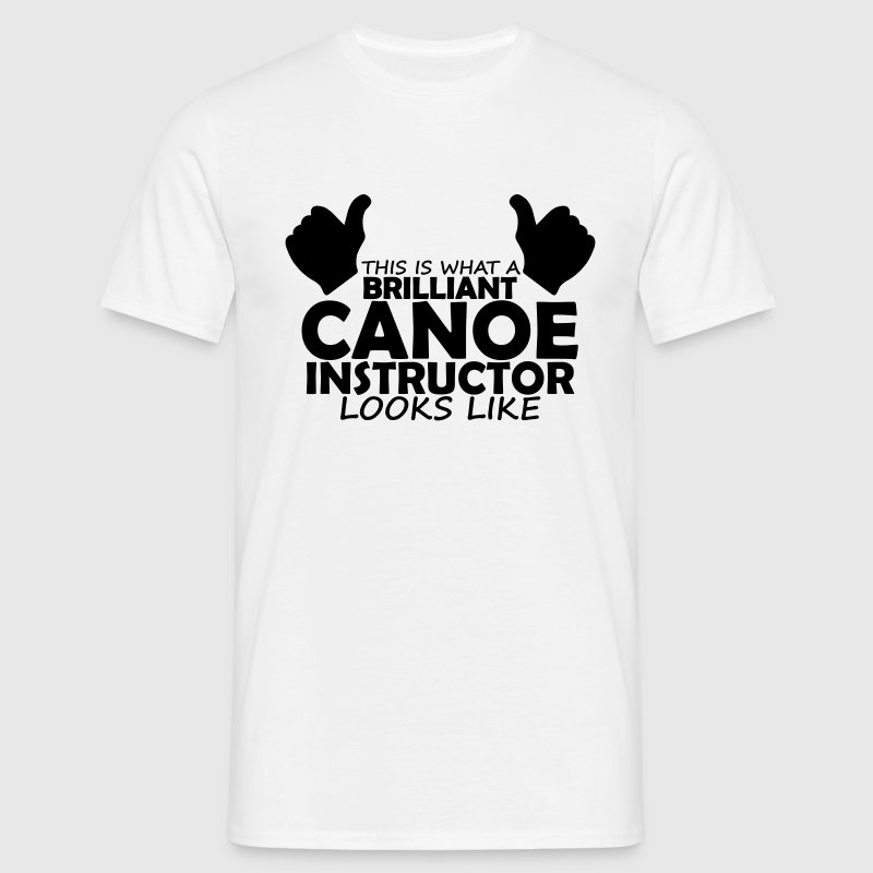 brilliant canoe instructor T-Shirts - Men's T-Shirt