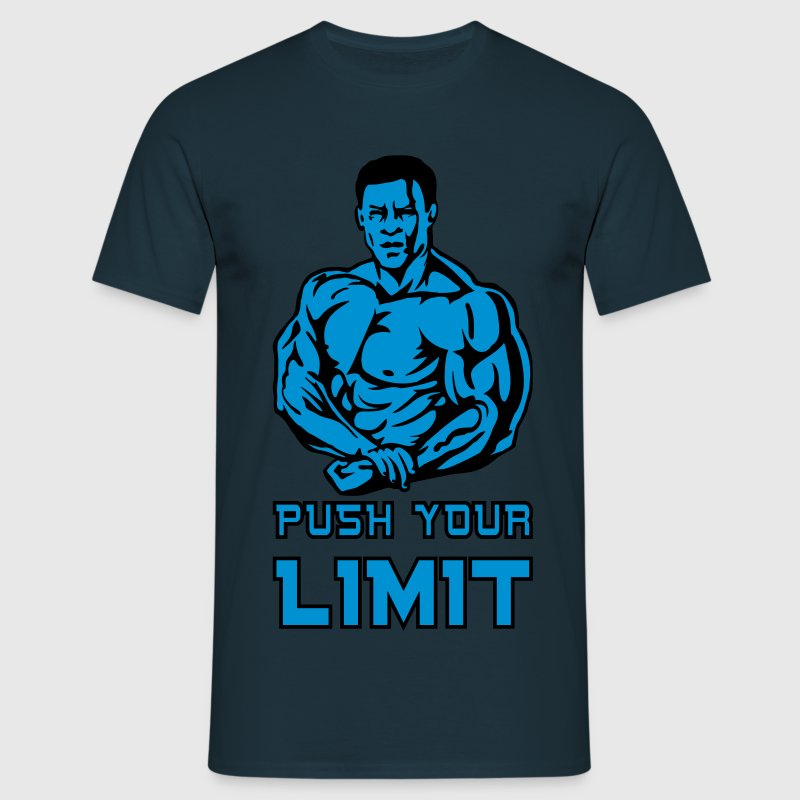 push your limit T-Shirts - Maglietta da uomo