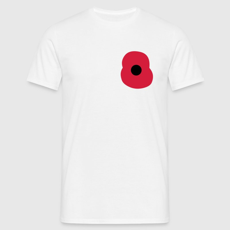 Rememberance Poppy T-Shirts - Men's T-Shirt