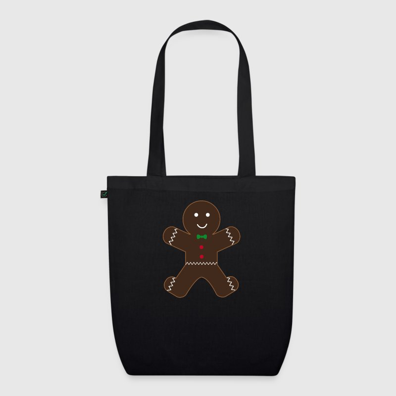 gingerbread man Bags & Backpacks - EarthPositive Tote Bag