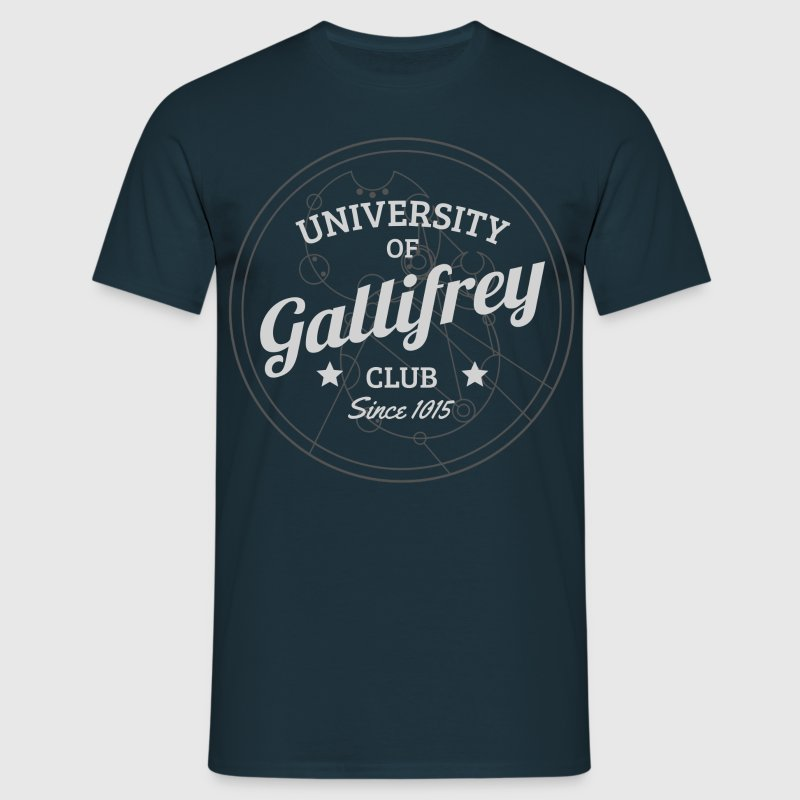 Doctor Who: University of Gallifrey (blau) - Männer T-Shirt
